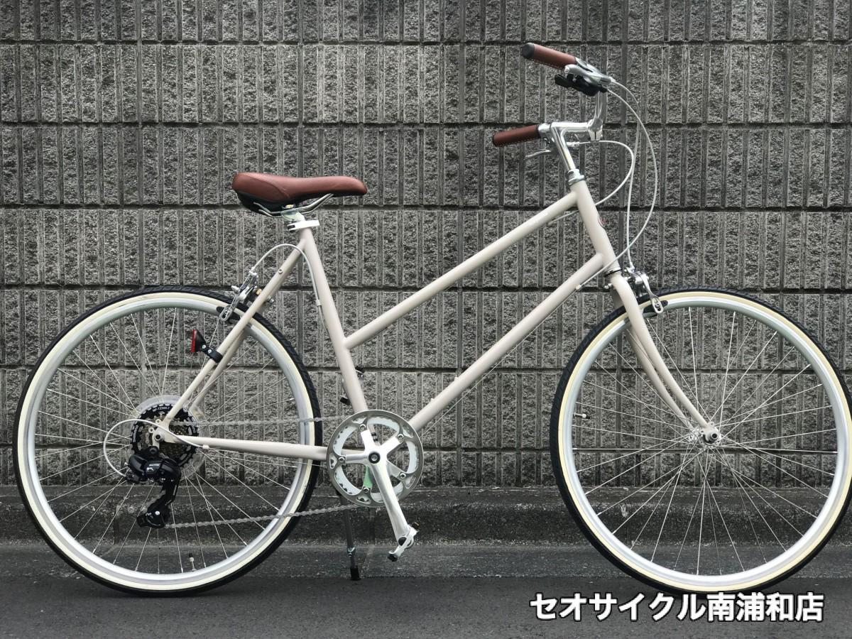 tokyobike / TOKYOBIKE BISOU 26 トーキョーバイク ビズ ビソウ クロスバイク ポタリング 街乗り 街中 ゆるく 気ままに 気楽に サイクリング 親切 丁寧 セオサイクル 南浦和店 セオ セオサイクル南浦和店