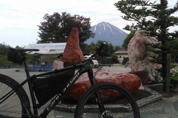 富士山麓でMTB観光