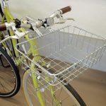 クロスバイクに WALD &BASIL のバスケット