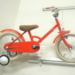 真っ赤なリトルトーキョーバイク、届きました ♪