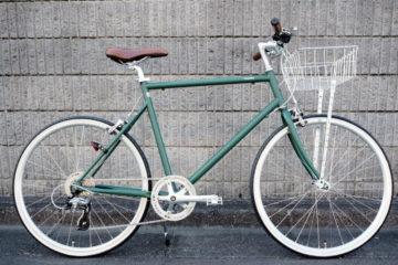 おしゃれに、快適に。トーキョーバイク26 グリーン