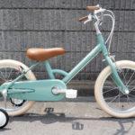 リトルトーキョーバイクの新色、ブルージェイド♪