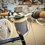 自転車に取り付けできる moca タンブラー&カップホルダー