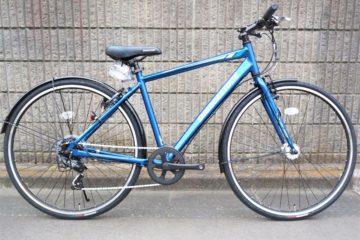 "<span class=""title"">ブリヂストンのフル装備クロスバイク TB1 ブルー</span>"