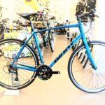 スピード系クロスバイク エスケープRX3 メタリックブルー