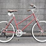 トーキョーバイク・ビズ TOKYOBIKE BISOU26 ボルドー入荷!